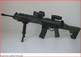 O novo fuzil IA2