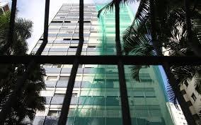 O prédio onde o advogado cumpre prisão domicilio