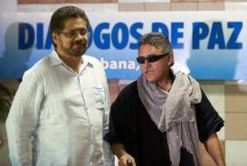 Comandantes das FARCs em Havana