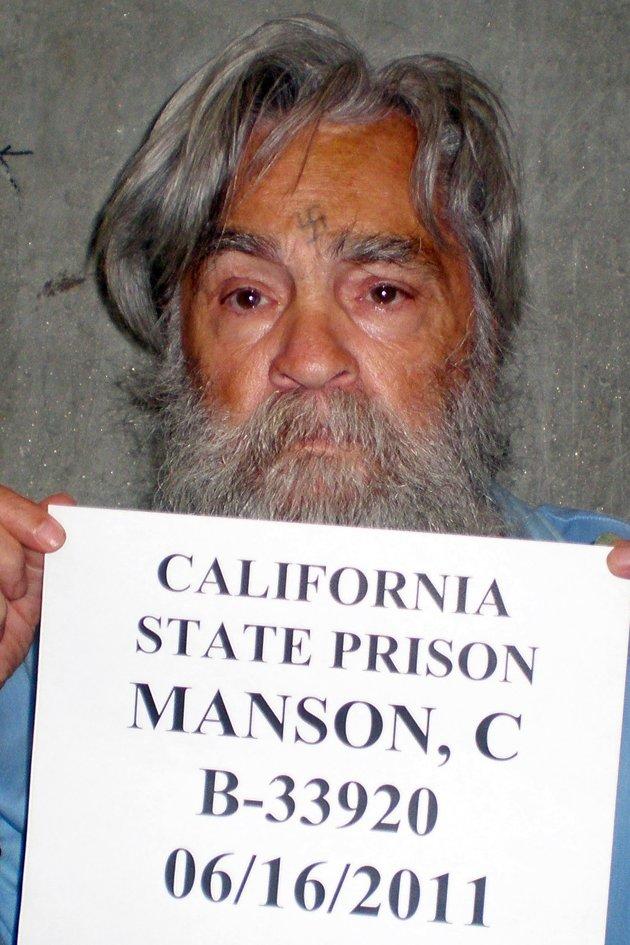 Manson, fotografado na cadeia em 2011.