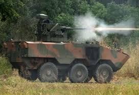 O tanque Guarani testado em Campinas.