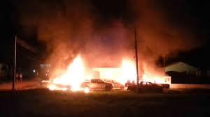 A violência em Humaitá, em foto do Estadão.