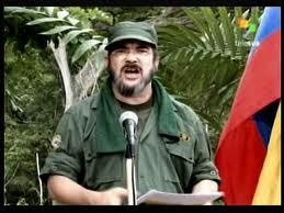 Timoleón Jiménez, o comandante das FARCs.