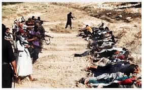ISIS executou centenas de pessoas no Iraque.