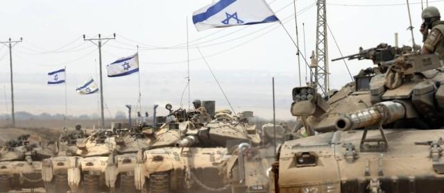 Tanques de Israel deixam Gaza. Foto O Globo.