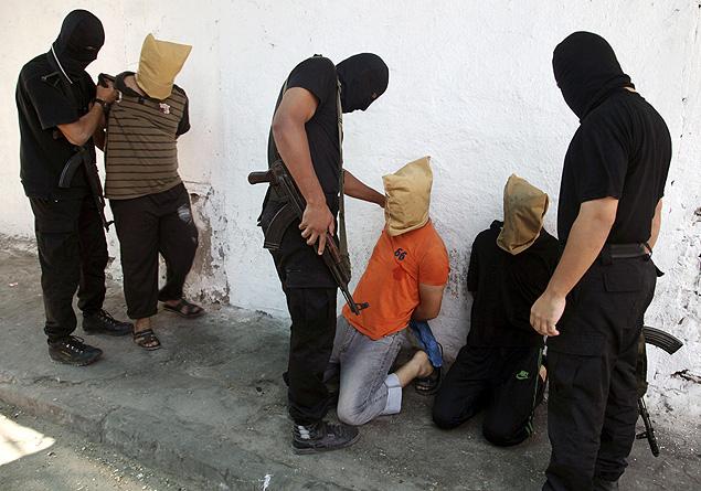 A execução foi mostrada pelo site Al-Majd.
