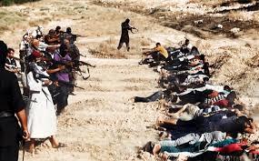 Duzentos e cinquenta soldados sírios executados de uma só vez pelo ISIS.
