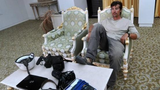 James Foley, que já tinha sido refém na Líbia.
