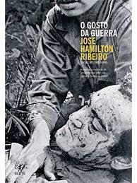 """Repórter brasileiro ferido no Vietnã, autor do livro """"O gosto de Guerra1."""