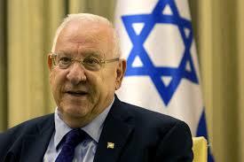 O presidente eleito de Israel.