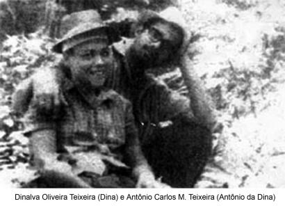 Dina e Antônio, casal de combatentes do PCdoB.