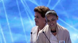 Dilma e Marina no debate da Band.