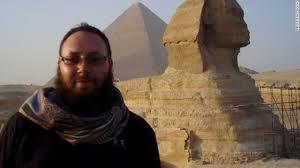 Steven em visita ao Egito.