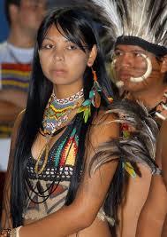 A etnia suruí, em foto da Funai.