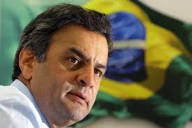 O candidato do PSDB supera Dilma.