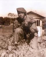O primeiro militar morto em combate.