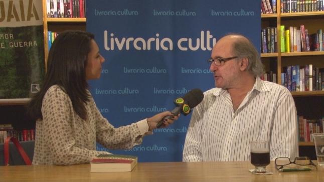 O autor, em entrevista à Band.