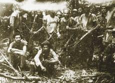 Foto rara da guerrilha no Araguaia.