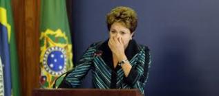 Dilma: popularidade em queda.