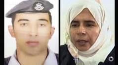 O piloto, 26 anos, e a mulher-bomba.