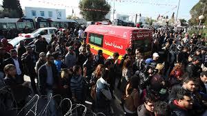 Turistas fuzilados em Tunis.