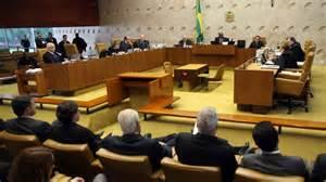 """O plenário da Suprema Corte, que vai julgar os políticos do """"petróleo""""."""