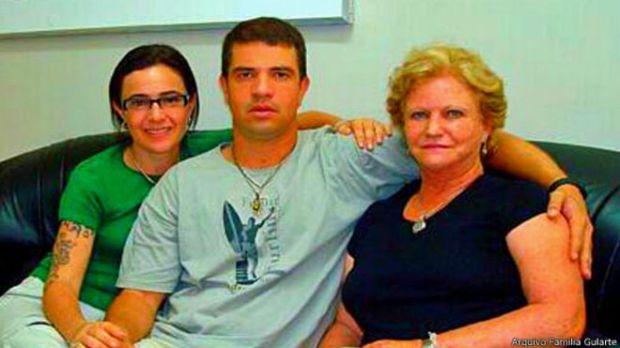 A família de Rodrigo Gularte tentou salvar a vida do condenado à morte.