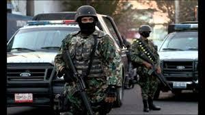 No México, repressão ao tráfico é feita pelo Exército.