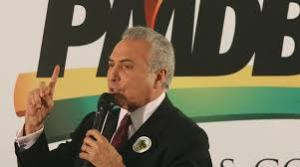 O Vice Michel Temer (PMDB-SP), articulador político  do governo.