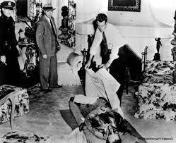 A morte de Bugsy, em 1947.
