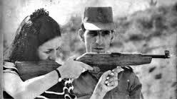 Lamarca era instrutor de tiro do Exército e treinava bancários para resistir aos assaltos da esquerda.