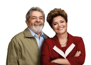 Lula e Dilma.