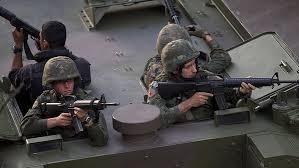 Militares no Complexo da Maré.