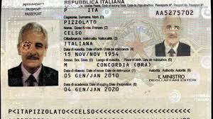 O passaporte falso.
