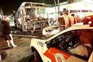 Ônibus queimados. Quase 200 atentados. Dias de violência em São Paulo.
