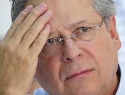 O ex-ministro, acusado de enriquecimento ilícito.