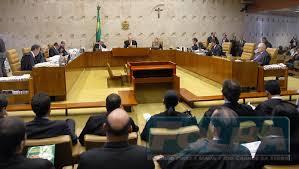 Plenário do Supremo Tribunal, em Brasília.