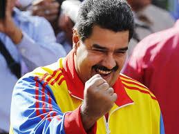 O presidente Maduro, que optou pelo conflito.