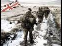 A ocupação britânica.