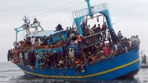 Fuga em massa para a Europa.