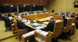 O plenário da Corte suprema.
