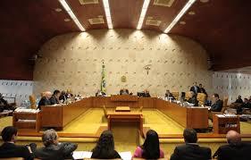 Plenário do STF: decisão saiu às cinco da tarde.